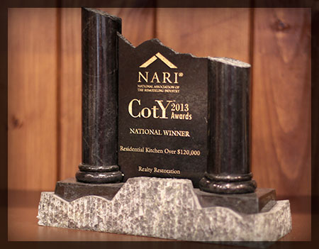 National CotY Award 2013